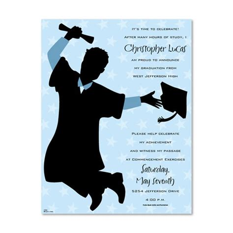 free printable graduation invitation templates gangcraft net
