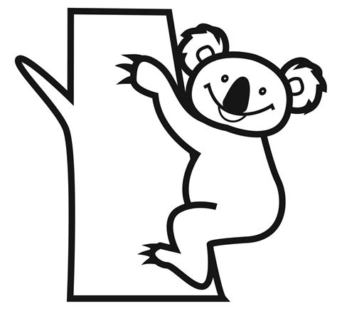 coloring pages of koala bears free printable koala coloring pages for kids animal place