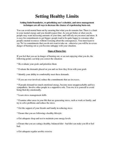 Boundaries Therapy Worksheets by Healthy Boundaries Worksheet Setting Healthy Boundaries Worksheet Therapy Topics