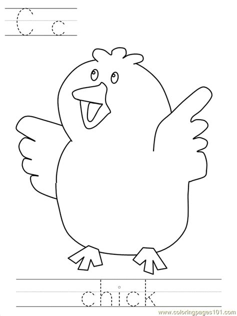 small chicks coloring pages coloring pages