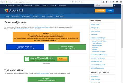 tutorial joomla 1 5 kursus internet untuk semua kalangan berbagi pengalaman e bisnis tutorial install cms joomla