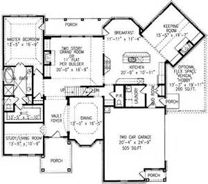 House Plans With Keeping Rooms Home Plan With Angled Keeping Room
