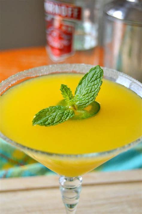 mango martini jalape 241 o mango martini mango martini martinis and beverage