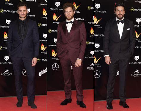 los galanes de la alfombra roja en los oscar diario la el cine espa 241 ol viste de la alfombra roja en los premios feroz