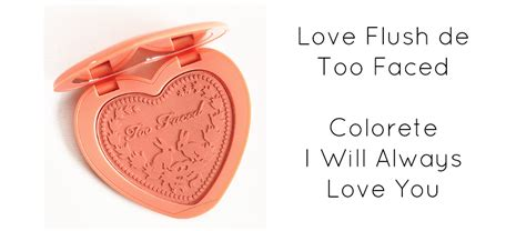 imagenes de i will always love you too faced love flush i will always love you miss cosm 233 ticos
