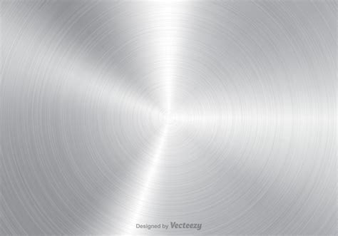 Free Brushed Aluminium Vector Background   Download Free