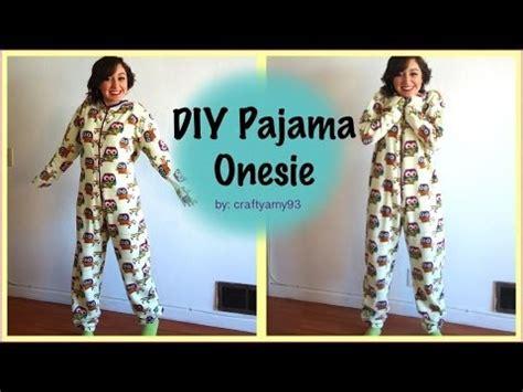 diy pajama diy pajama onesie
