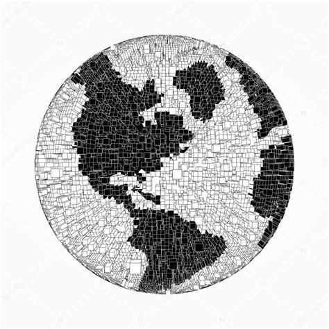 imagenes en blanco y negro de la tierra mundo de pixel blanco y negro archivo im 225 genes