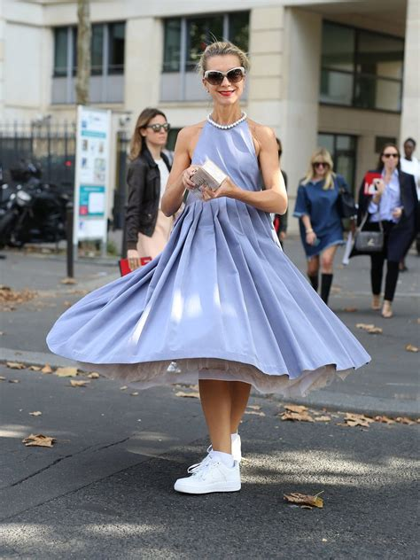 dress sneakers for how to wear dress and sneakers popsugar fashion