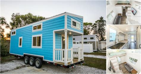 tiny house rental community rent the adorable blue oasis beach house in sarasota