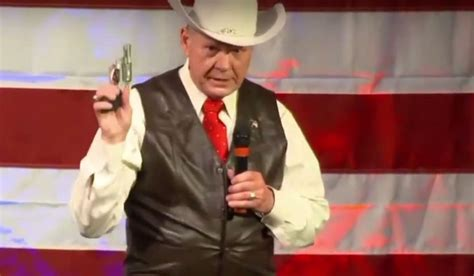 roy moore nra question of the day you ok with the nra supporting roy
