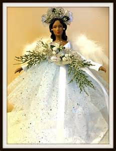 angel tree topper african american christmas angel tree top