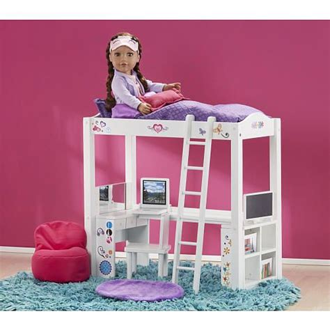 journey girls wood bed and desk combo toys r us toys