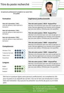 Curriculum Vitae Service by 150 Exemples De Cv Curriculum Vitae 224 T 233 L 233 Charger