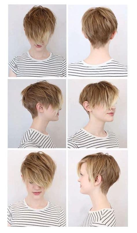 pixie cut faux bun the 25 best shorter hair ideas on pinterest short hair
