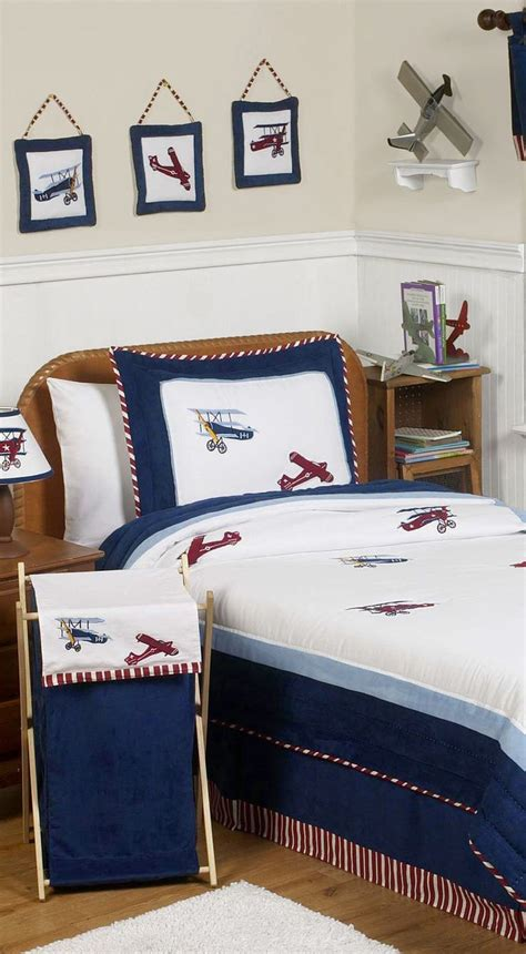 vintage airplane bedding vintage aviator airplane bedding boys bedrooms boys