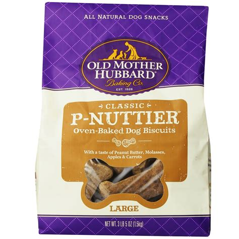 hubbard treats hubbard p nuttier biscuits large 3 3 lbs entirelypets