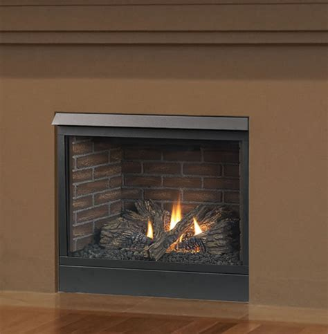 patriot 42 inch direct vent fireplace by majestic s gas