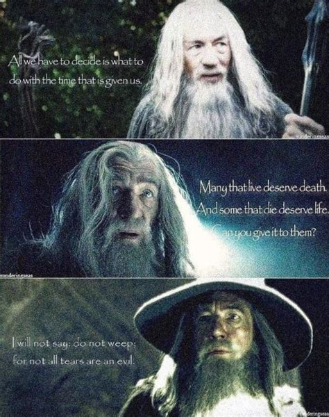 gandalf time quote day 17 favourite quote from your favourite book cc