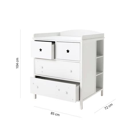 Commode A Langer Blanche by Commode 224 Langer Blanche Songe Maisons Du Monde