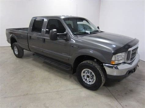 car owners manuals for sale 2002 ford f350 transmission control purchase used 2002 ford f350 7 3l v8 turbo diesel xlt 4x4 crew long 2 owner co pickup 80pics in