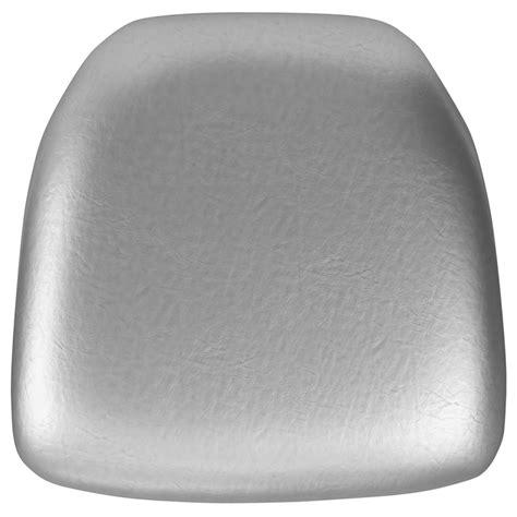 Chiavari Chair Cushions by Silver Vinyl Chiavari Chair Cushion Bh Sil Vyl