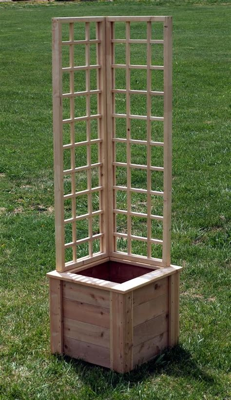 Garden Trellis Planter by Tweet And Winwithgkh Naturalyards Garden Planter With L