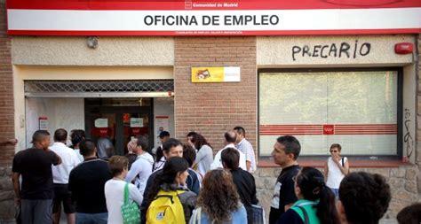oficina de empleo collado villalba paro juvenil pensi 243 n alimentaria hasta los 31 espa 241 a
