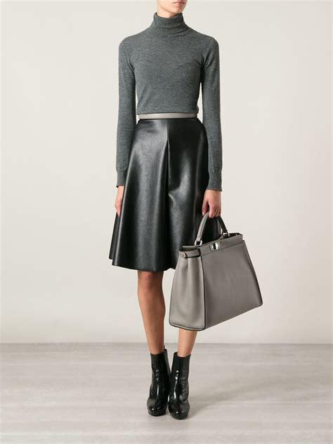 Sale Givenchy Peekabo 702 fendi peekaboo tote in gray grey lyst