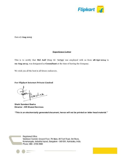 Resume Format Pdf For Tcs by Experience Letter Realestatesalesmanagerexperienceletter