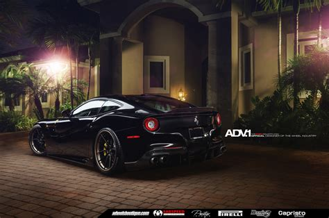 ferrari f12 berlinetta wheels ferrari f12 berlinetta looks batmobile ish on adv 1 wheels