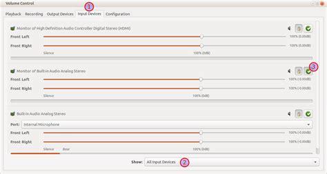 xinput tutorial ubuntu ubuntu settings add recording device ubuntuxchanger
