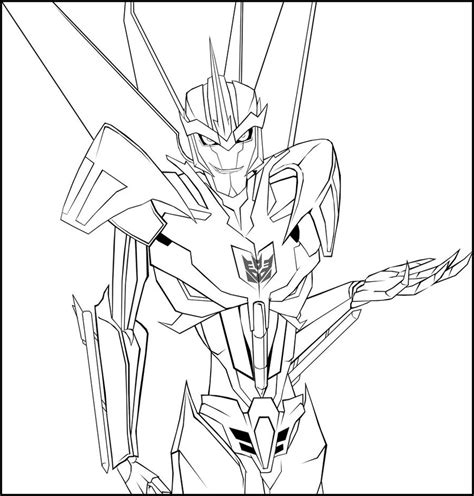 starscream coloring page tfp starscream by chibigingi on deviantart