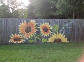 Backyard Mural Ideas 25 Best Ideas About Fence Painting On Fence