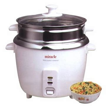 Rice Cooker Keramik miracle rice cooker stainless steel bowl rice cooker