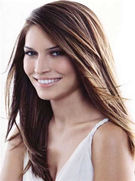 hairstyles for long straight hair with side bangs and layers 100 best haircuts for women long hairstyles 2017 long