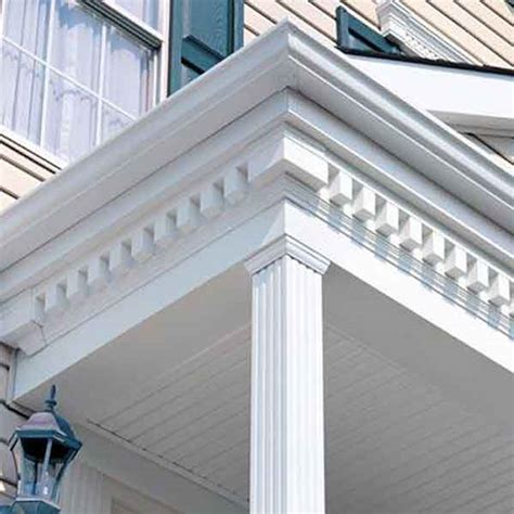 exterior house trim molding home design