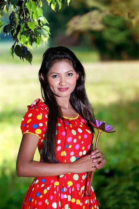 new sri lankan girrls hair styles sri lankan girl with a beautiful frock fashions