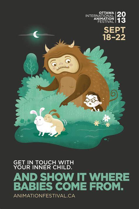 design poster cartoon hilarious poster caign celebrates adult cartoons osocio