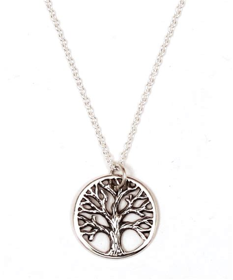 how to make tree of jewelry sterling silver textured tree of necklace