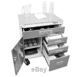 heavy duty rolling garage cabinet drawers door stainless
