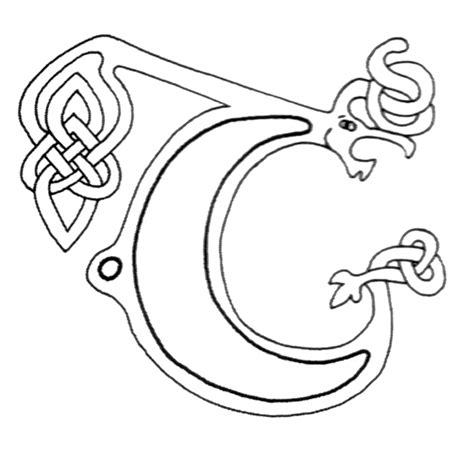 celtic letters coloring pages free celtic letters of the alphabet