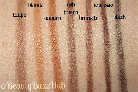 brow wiz colors beautybuzzhub drugstore brow routine nyx micro brow