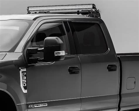 F250 Led Light Bar Roof Mount 2017 2018 F250 F350 Zroadz Modular 50 Quot Led Multi Mount Light Bar Roof Mounts Z355471