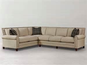 Bassett Furniture Sectional Sofas Harlan Large L Shaped Sectional By Bassett Furniture Contemporary Sectional Sofas Raleigh