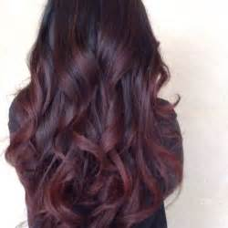 burgundy brown hair color 25 best ideas about burgundy plum hair on