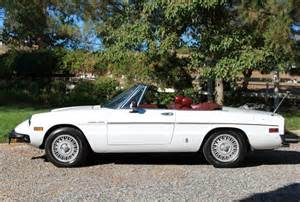 1981 Alfa Romeo Spider 1981 Alfa Romeo Spider Veloce Socal Car Great