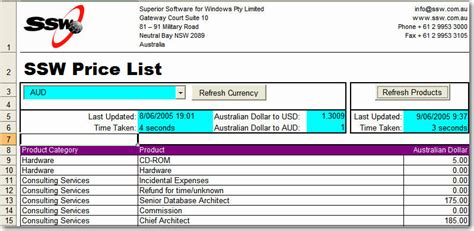 575 product list jpg ssw excel price and product list