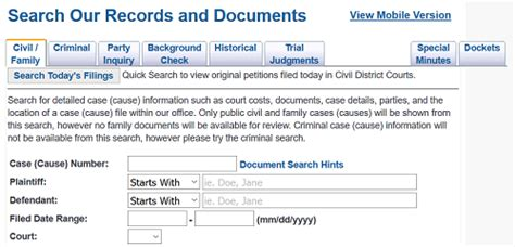 County Records Search Harris County Court Records Search