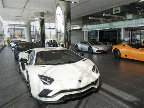 lamborghini showroom building lamborghini opens showroom in dubai drivespark